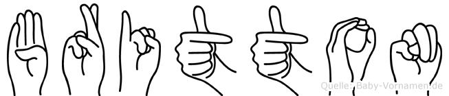 Britton in Fingersprache für Gehörlose