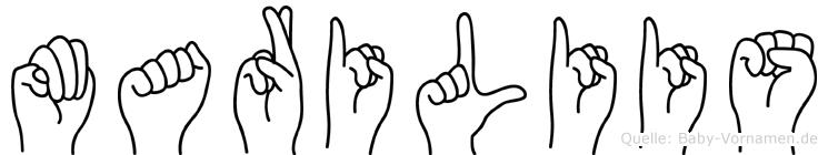 Mariliis in Fingersprache für Gehörlose