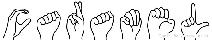 Caramel in Fingersprache für Gehörlose