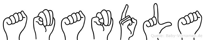 Amandla in Fingersprache für Gehörlose