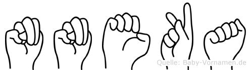 Nneka in Fingersprache für Gehörlose