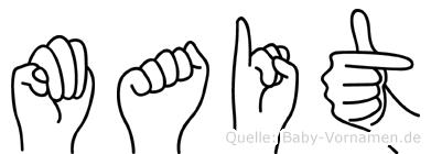 Mait in Fingersprache für Gehörlose