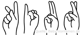 Kiur in Fingersprache für Gehörlose