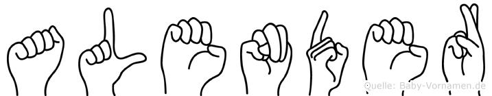 Alender in Fingersprache für Gehörlose