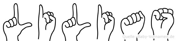 Lilias in Fingersprache für Gehörlose