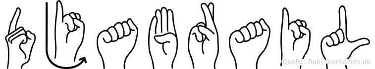 Djabrail in Fingersprache für Gehörlose