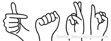 Tari in Fingersprache für Gehörlose