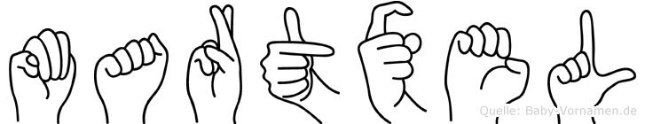 Martxel in Fingersprache für Gehörlose
