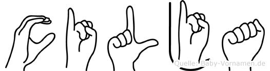 Cilja in Fingersprache für Gehörlose