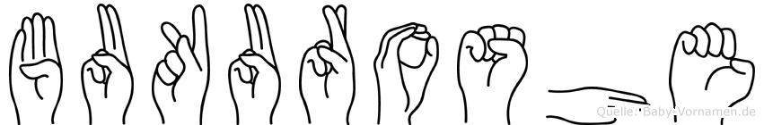 Bukuroshe in Fingersprache für Gehörlose