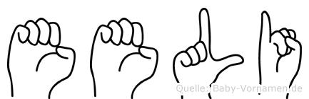 Eeli in Fingersprache für Gehörlose