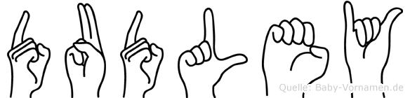 Dudley in Fingersprache für Gehörlose