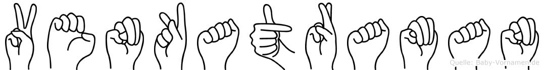 Venkatraman in Fingersprache für Gehörlose