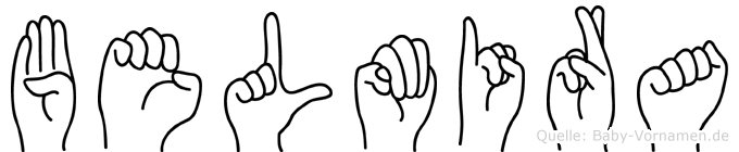 Belmira in Fingersprache für Gehörlose