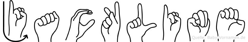 Jackline in Fingersprache für Gehörlose