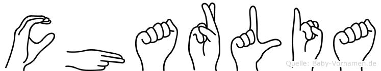 Charlia in Fingersprache für Gehörlose