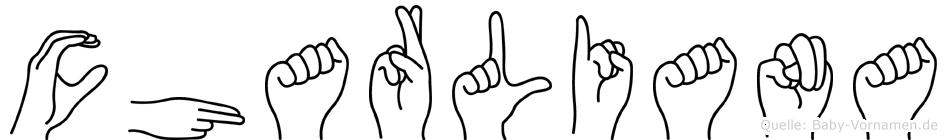 Charliana in Fingersprache für Gehörlose