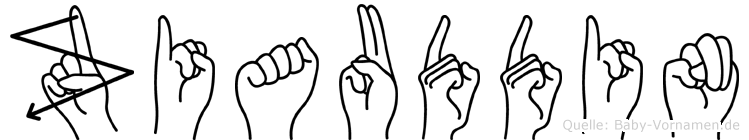 Ziauddin in Fingersprache für Gehörlose