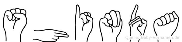 Shinda in Fingersprache für Gehörlose