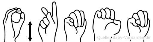 Ökmen in Fingersprache für Gehörlose