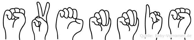 Svennis in Fingersprache für Gehörlose