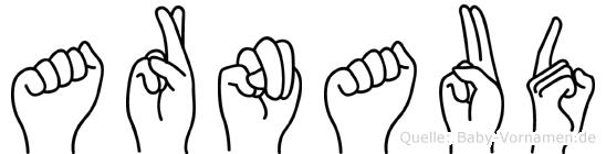 Arnaud in Fingersprache für Gehörlose
