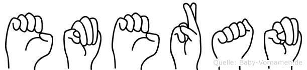 Emeran in Fingersprache für Gehörlose