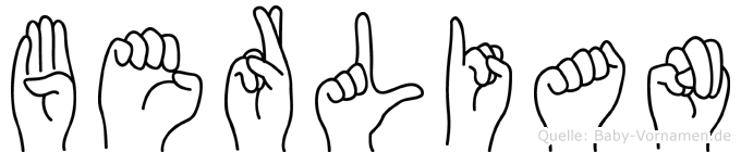 Berlian in Fingersprache für Gehörlose