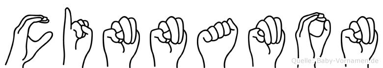 Cinnamon in Fingersprache für Gehörlose