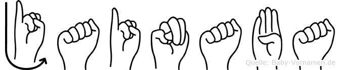 Jainaba in Fingersprache für Gehörlose