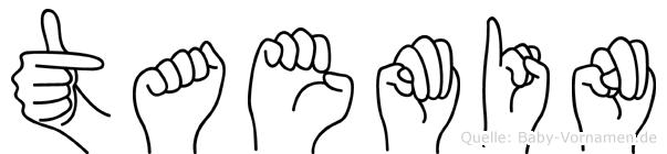 Taemin in Fingersprache für Gehörlose