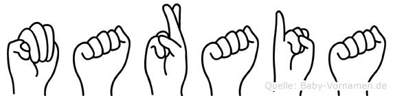 Maraia in Fingersprache für Gehörlose