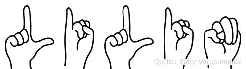 Lilin in Fingersprache für Gehörlose
