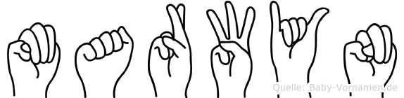 Marwyn in Fingersprache für Gehörlose