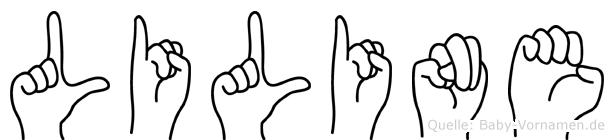 Liline in Fingersprache für Gehörlose