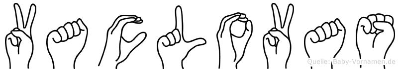 Vaclovas in Fingersprache für Gehörlose