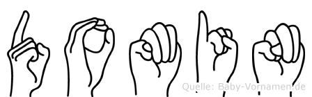 Domin in Fingersprache für Gehörlose