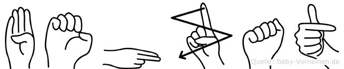 Behzat in Fingersprache für Gehörlose