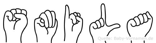 Smila in Fingersprache für Gehörlose