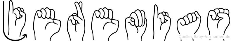 Jeremias in Fingersprache für Gehörlose