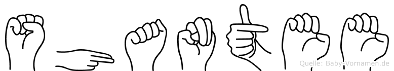 Shantee in Fingersprache für Gehörlose