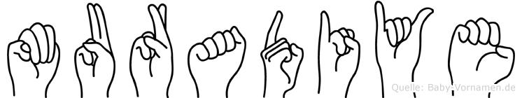 Muradiye in Fingersprache für Gehörlose