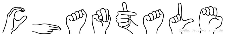 Chantale in Fingersprache für Gehörlose