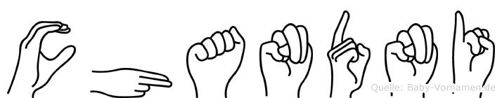 Chandni in Fingersprache für Gehörlose