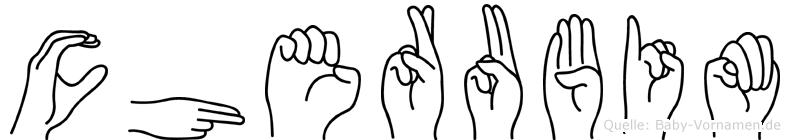 Cherubim in Fingersprache für Gehörlose