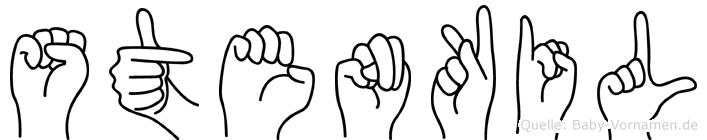 Stenkil in Fingersprache für Gehörlose