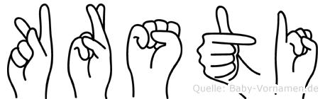 Kärsti in Fingersprache für Gehörlose