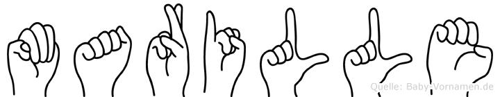 Marille im Fingeralphabet der Deutschen Gebärdensprache