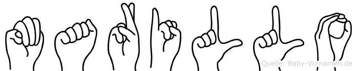 Marillo in Fingersprache für Gehörlose