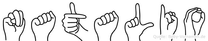 Natalio in Fingersprache für Gehörlose